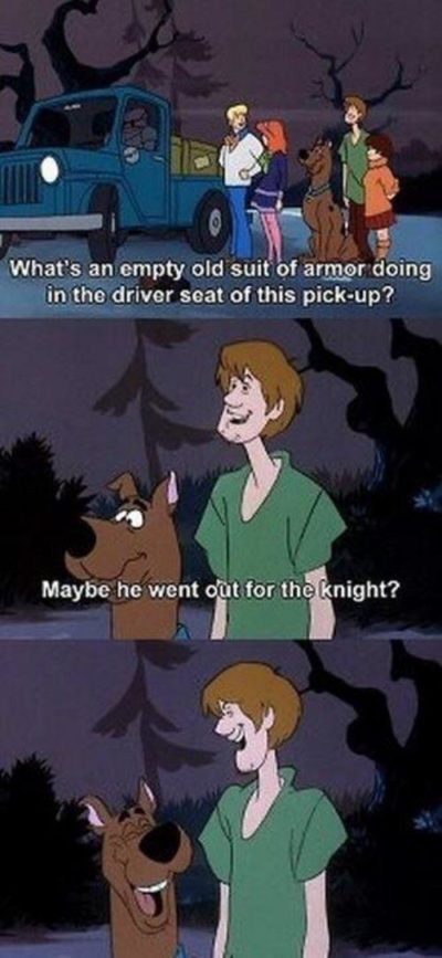 I love Scooby-Doo