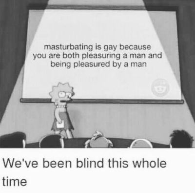 Blind and gay I am