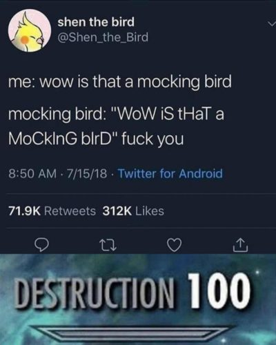 DEstRucTiOn 100