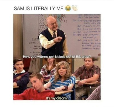 SaM iS LIteRalLY mE 😂