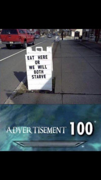 Advertisement 100
