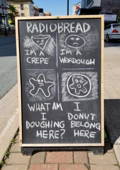 Them puns dough