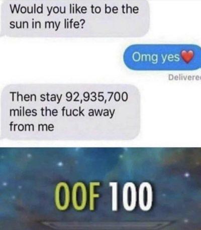 OOF 100 Haha