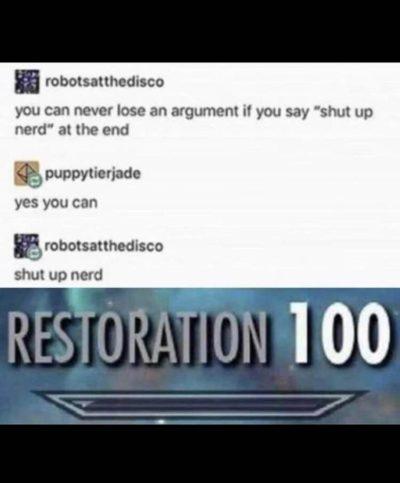 ReStOrAtion 🤣🤣