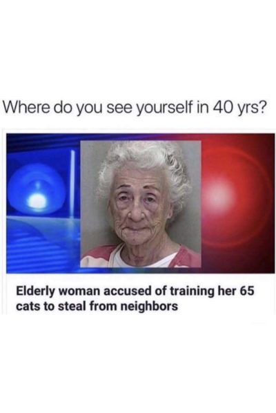 WhErE dO YoU sEe YoUrSeLf In 40 YrS?