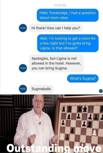 What is ligma?