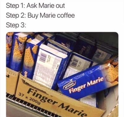 Marie Marie…