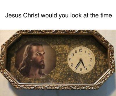 A divine pun