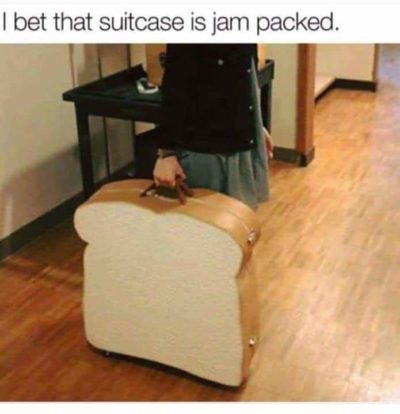 A toast to this luggage