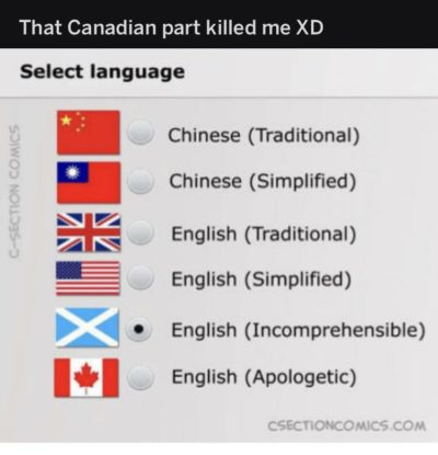 That canadian part xddddd😂😂😂👌🏻👌🏻