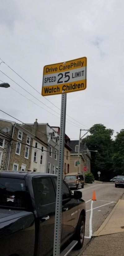 This street sign in Philadelphia