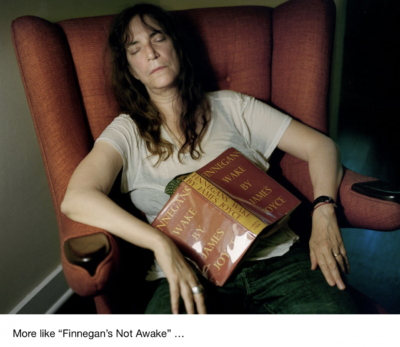 ISWYDT, Patti Smith