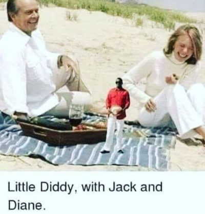Little Diddy, with Jack and Diane.