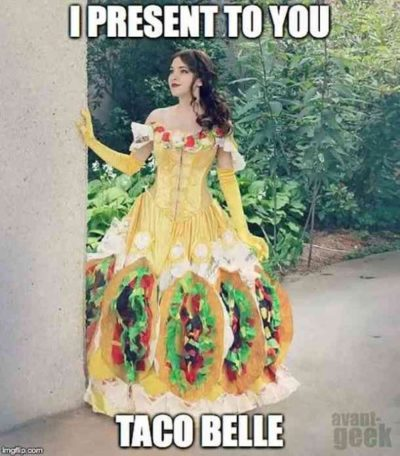Let's taco about it