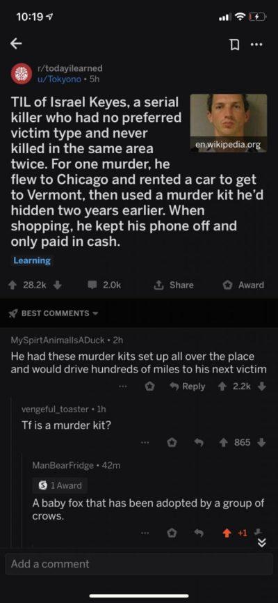 Murder kit