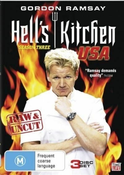 "they call Gordon Ramsey ""raw and uncut,"" yet these are the exact words he uses when chewing out chefs on his show"