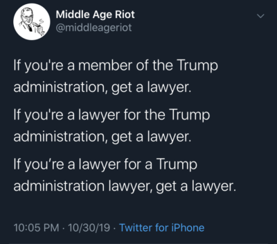 There's only so many lawyers ….