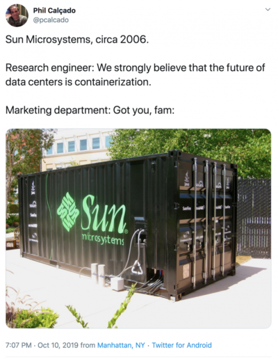 Marketing department of Sun