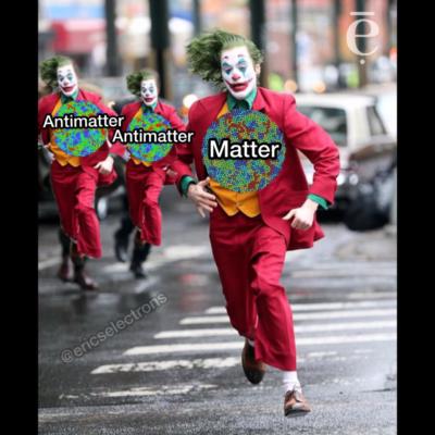 Run, matter, run!