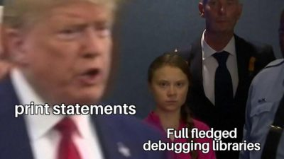 Debugger what?