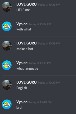 English, the best programming language