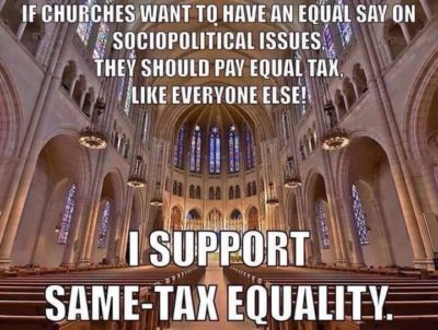 You want to lobby, You pay tax! Comprende!