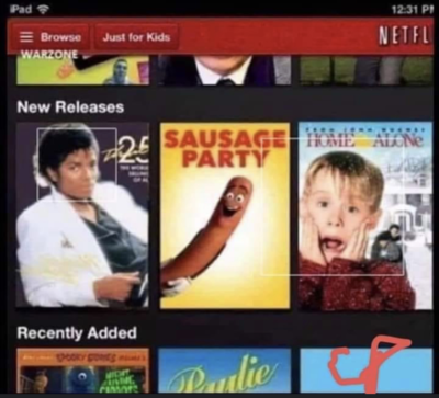 Netflix should watch what order they put their new releases in.