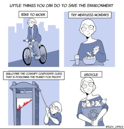 Little Things You Can Do To Save The Environment