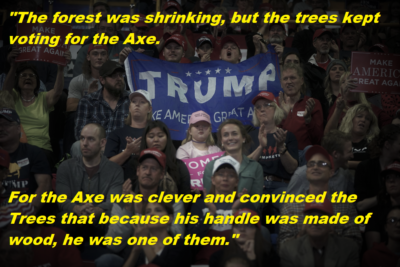 Vote for Axe in 2020!