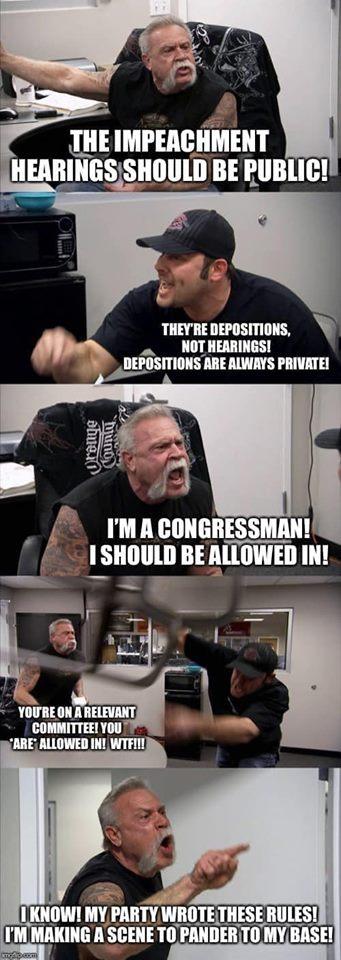 Congressional Republican Behavior Explained.