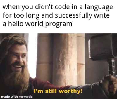C++ for me