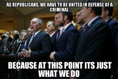 Republicans United To Fight For Injustice