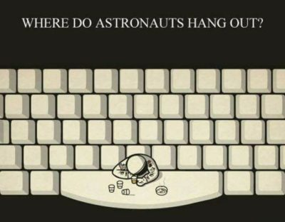 A pun from outer space