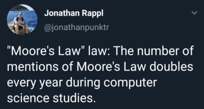 Moore's Law…