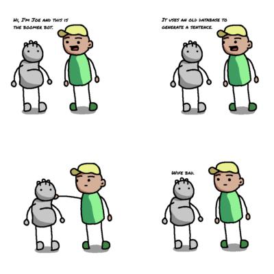 I made my own boomer comic