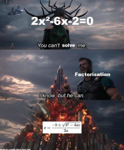 Algebra 😒