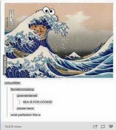 Sea is for Cookies