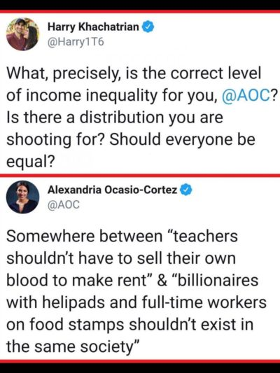 Alexandria Ocasio-Cortez for the win