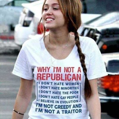 Why I'm not Republican…