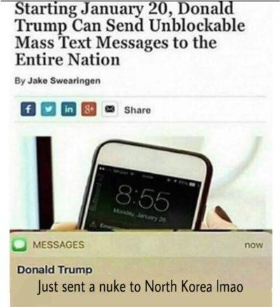 Wow, Donald Trump