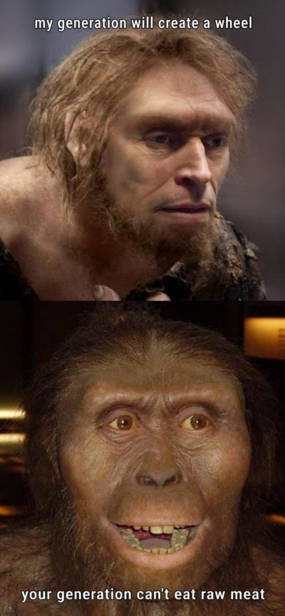 Neanderthals be like