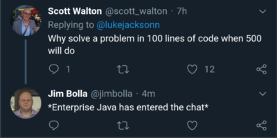 Oh Java, never change