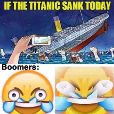 Boomers man…