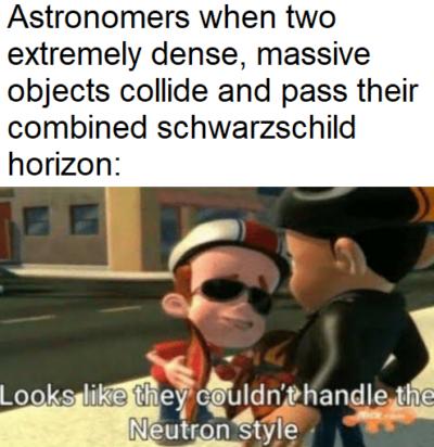 strange matter joke