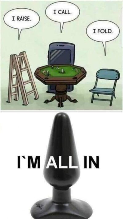 HA poker. Funny.