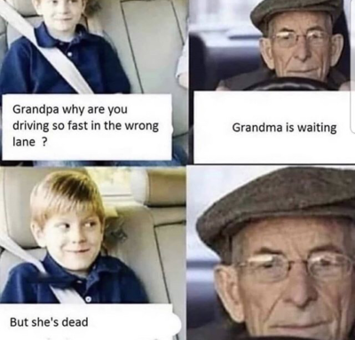 Grandma is waiting