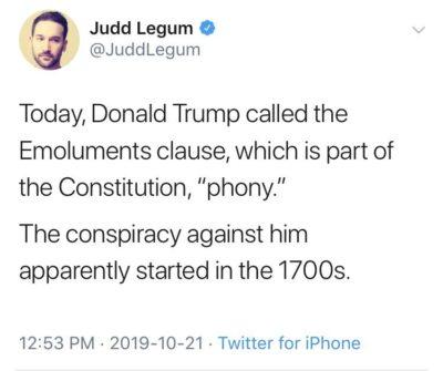Conspiracy theory extraordinaire