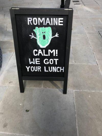 Chalkboard pun