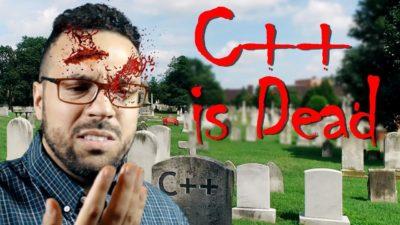 C++ is Dead…Happy Halloween!