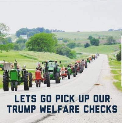 Trumps Welfare Lines